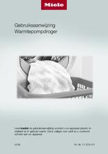 Gebruiksaanwijzing MIELE droger warmtepomp TEF655WP