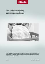 Gebruiksaanwijzing MIELE droger warmtepomp TEF675WP