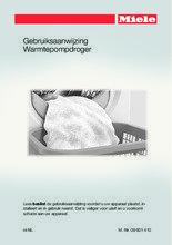 Gebruiksaanwijzing MIELE droger warmtepomp TMB 640 WP