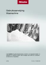 Gebruiksaanwijzing MIELE wasmachine WEF375WPS