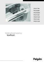 Gebruiksaanwijzing PELGRIM koelkast inbouw PKS5122K