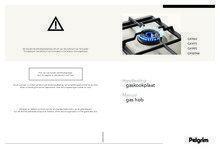 Gebruiksaanwijzing PELGRIM kookplaat inbouw GK964RVSA