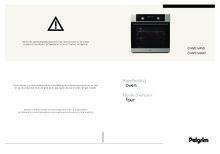 Gebruiksaanwijzing PELGRIM oven inbouw OVM516RVS