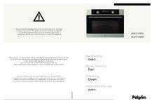 Gebruiksaanwijzing PELGRIM oven met magnetron MAC514MAT