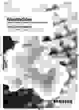 Gebruiksaanwijzing SAMSUNG was-droogcombinatie WD90T634ABH