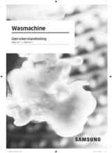Gebruiksaanwijzing SAMSUNG wasmachine WW80J6400CW