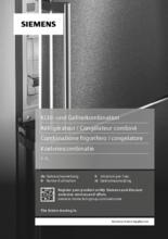 Gebruiksaanwijzing SIEMENS koelkast inbouw KI87SAFE0