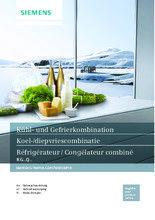 Gebruiksaanwijzing SIEMENS koelkast rvs-look KG38QAL30