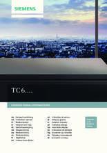 Gebruiksaanwijzing SIEMENS koffiezetapparaat TC60301