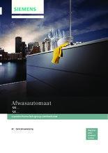 Gebruiksaanwijzing SIEMENS vaatwasser rvs-look SN25N880EU