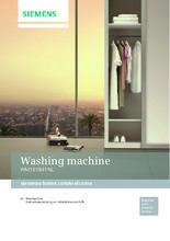Gebruiksaanwijzing SIEMENS wasmachine WM16Y841NL