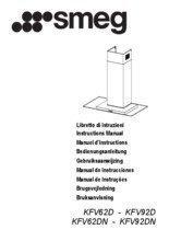 Gebruiksaanwijzing SMEG afzuigkap glas KFV92D2