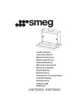 Gebruiksaanwijzing SMEG afzuigkap vlakscherm KSET6XE2