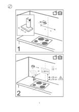 Gebruiksaanwijzing SMEG afzuigkap wand antraciet KBT900NE