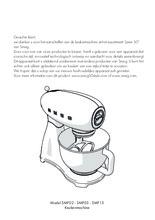 Gebruiksaanwijzing SMEG keukenmachine volledig wit SMF13WHEU