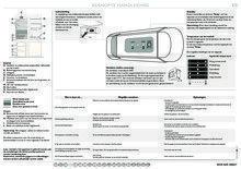 Gebruiksaanwijzing SMEG koelkast inbouw CR325P1