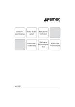 Gebruiksaanwijzing SMEG koelkast inbouw D4152F