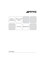 Gebruiksaanwijzing SMEG koelkast inbouw S8C124DE