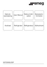 Gebruiksaanwijzing SMEG koelkast inbouw SD7205SLD2P