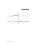 Gebruiksaanwijzing SMEG koelkast onderbouw U8L080DF