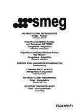 Gebruiksaanwijzing SMEG koelkast rvs FC34XPNF1