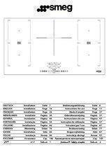 Gebruiksaanwijzing SMEG kookplaat inductie SIM592B