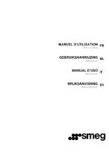 Gebruiksaanwijzing SMEG magnetron inbouw FMI120B1