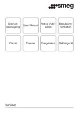 Gebruiksaanwijzing SMEG vrieskast inbouw S4F094E