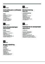 Gebruiksaanwijzing SMEG vrieskast inbouw VI205PNF1