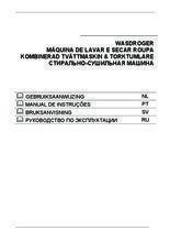 Gebruiksaanwijzing SMEG was/droogcombinatie inbouw LSTA146S