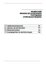 Gebruiksaanwijzing SMEG wasmachine inbouw LST147-2