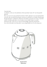 Gebruiksaanwijzing SMEG waterkoker goud KLF03GOEU