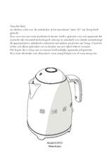 Gebruiksaanwijzing SMEG waterkoker goud roze KLF03RGEU