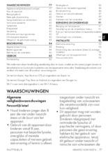 Gebruiksaanwijzing SMEG wijnkoelkast inbouw CVI321X3