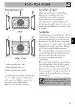 Gebruiksaanwijzing SMEG zelfreinigende wanden PC68