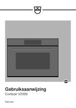 Gebruiksaanwijzing V-ZUG oven inbouw Combair V2000 45 platinum