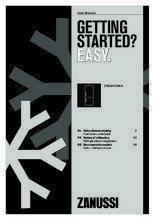 Gebruiksaanwijzing ZANUSSI koelkast ZRB34103WA