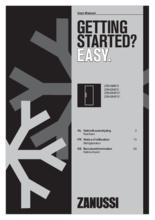 Gebruiksaanwijzing ZANUSSI koelkast inbouw ZRAE88FS