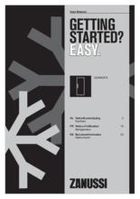 Gebruiksaanwijzing ZANUSSI koelkast onderbouw ZEAN82FR