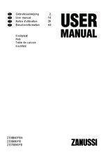 Gebruiksaanwijzing ZANUSSI kookplaat inductie ZEI6840FBA