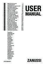 Gebruiksaanwijzing ZANUSSI vrieskast tafelmodel ZFG06400WA