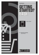 Gebruiksaanwijzing ZANUSSI wasmachine bovenlader ZWQ61265NW