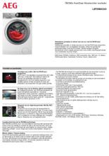 Instructie AEG wasmachine L8FEN96CAD