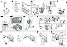 Instructie ASKO vaatwasser inbouw D5896 Fi XXL
