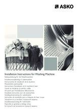 Instructie ASKO wasmachine W6464