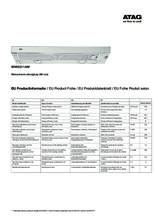Instructie ATAG afzuigkap vlakscherm WV60211AM