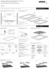 Instructie ATAG kookplaat inbouw HG6211CA