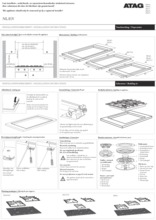 Instructie ATAG kookplaat inbouw grafiet HG6292BA