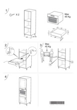 Instructie BAUKNECHT - WHIRLPOOL lade zonder verwarming AKB655PT