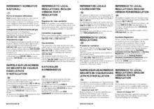 Instructie BAUKNECHT kookplaat gas/op/glas TGV3520/3SW